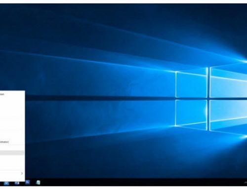 Bureaublad Windows 10